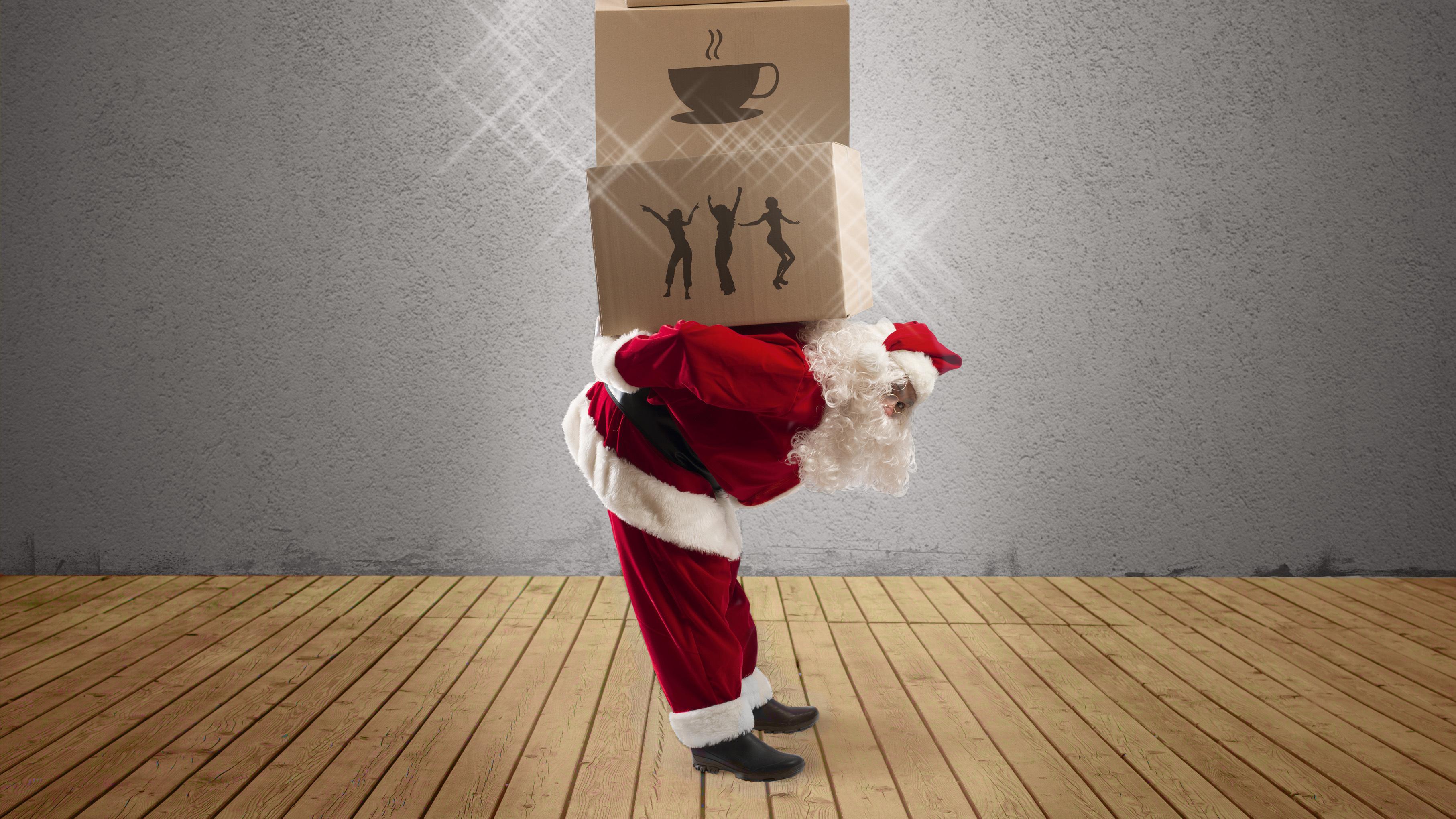 news weihnachtscafe und nikolaus im wof 2. Black Bedroom Furniture Sets. Home Design Ideas